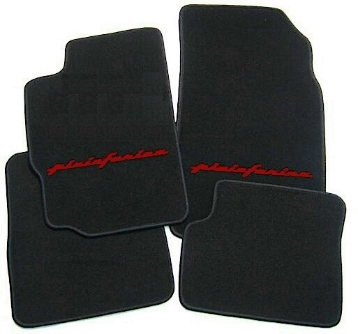 peugeot 406 coup tapis de sol en moquette noir rouge ebay. Black Bedroom Furniture Sets. Home Design Ideas