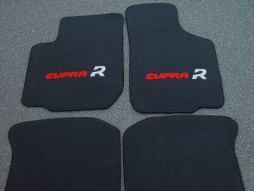 seat leon cupra r autoteppiche fussmatten schw rot ebay. Black Bedroom Furniture Sets. Home Design Ideas