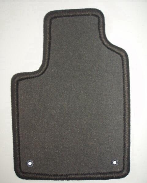 renault captur 05 13 4 tapis en velours gris clip. Black Bedroom Furniture Sets. Home Design Ideas